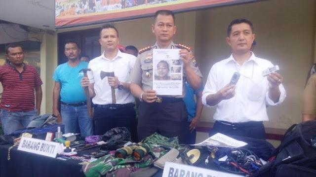 Perampok dan Spesialis Bongkar Rumah di Tembak Mati Sat Reskrim Polresta Medan