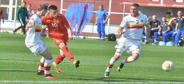 U21 Testspiel: Mazedonien gewinnt gegen Montenegro