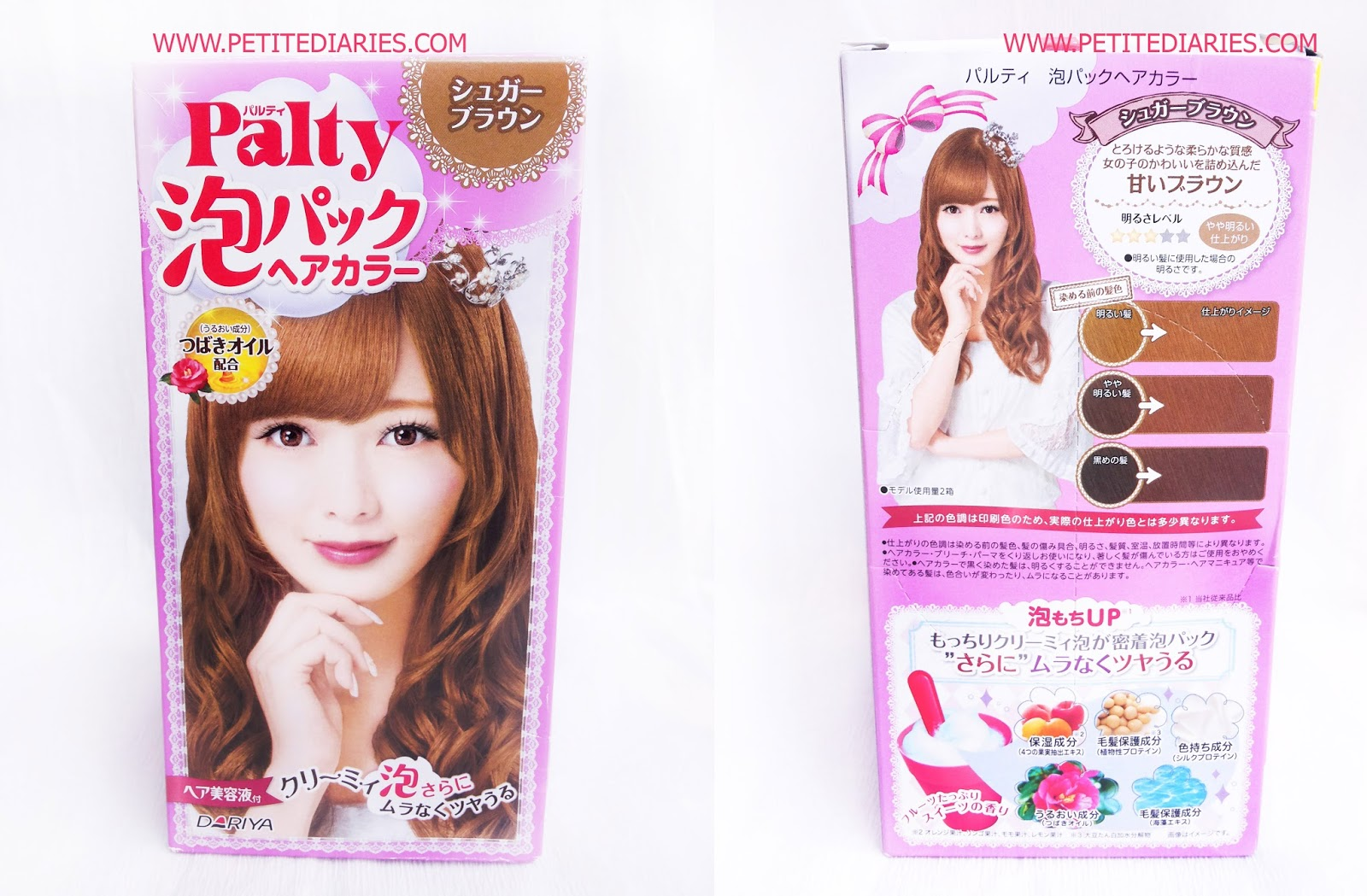 review dariya palty sugar brown hair color