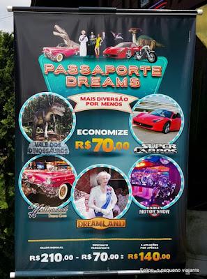 Museu de Cera Dreamland, Harley Motor Show, Hollywood Dream Cars, Super Carros e Vale dos Dinossauros - 1 passaporte, 5 atrações
