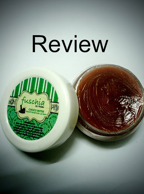 REVIEW: Choco butter lip balm by Fuschiavkare image