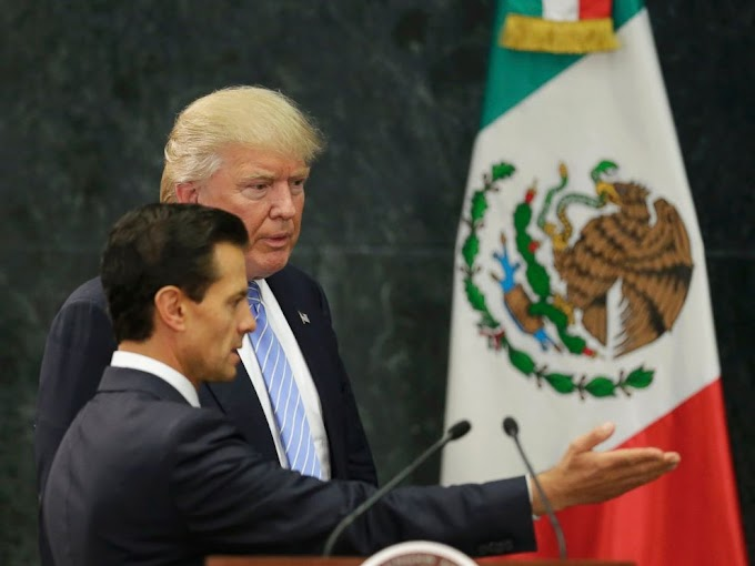 Trump 'Didn't Discuss' Border Wall Payment With Mexican President As He Lands in Mexico