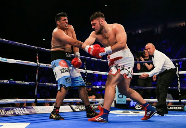 Dave Allen def. Ariel Esteban Bracamonte by TKO 7th Round
