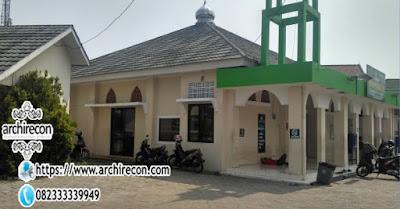 Penataan Site Lahan Masjid - Tampak Depan
