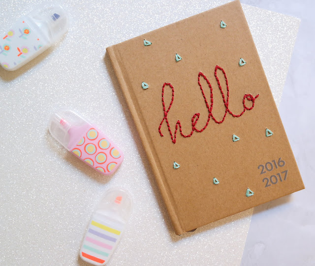 diy-customisation-agenda-brodé