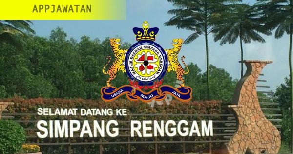 Jawatan Kosong di Majlis Daerah Simpang Renggam