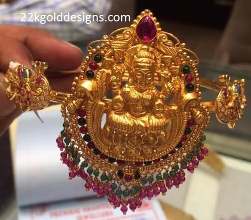 Temple Lakshmi Armlet with weight