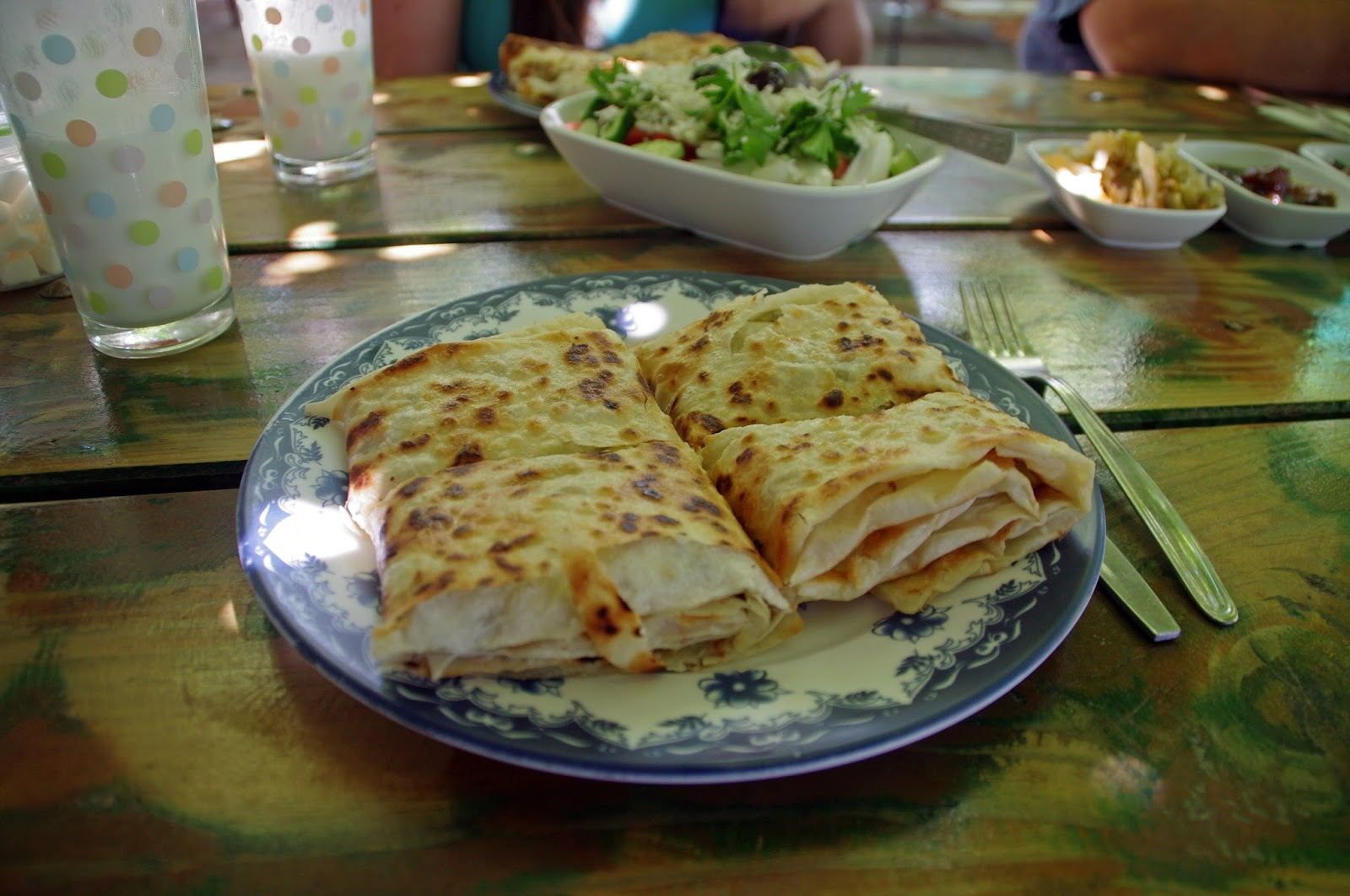 Gozleme at Dayuranlar Restaurant