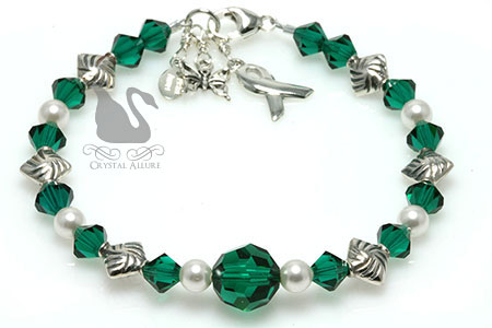 Breathe Free Organ Transplant Awareness Bracelet (B184-TX)