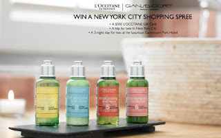 L'Occitane's New York Shopping Spree promotion ad.jpeg