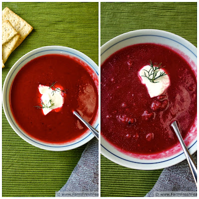 Potato, Beet, and Leek Soup (And How To Make Vegetable Stock) | Farm Fresh Feasts