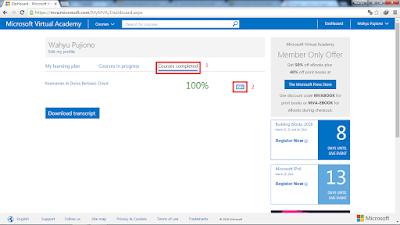 mva4 - Belajar Gratis Dengan Microsoft!