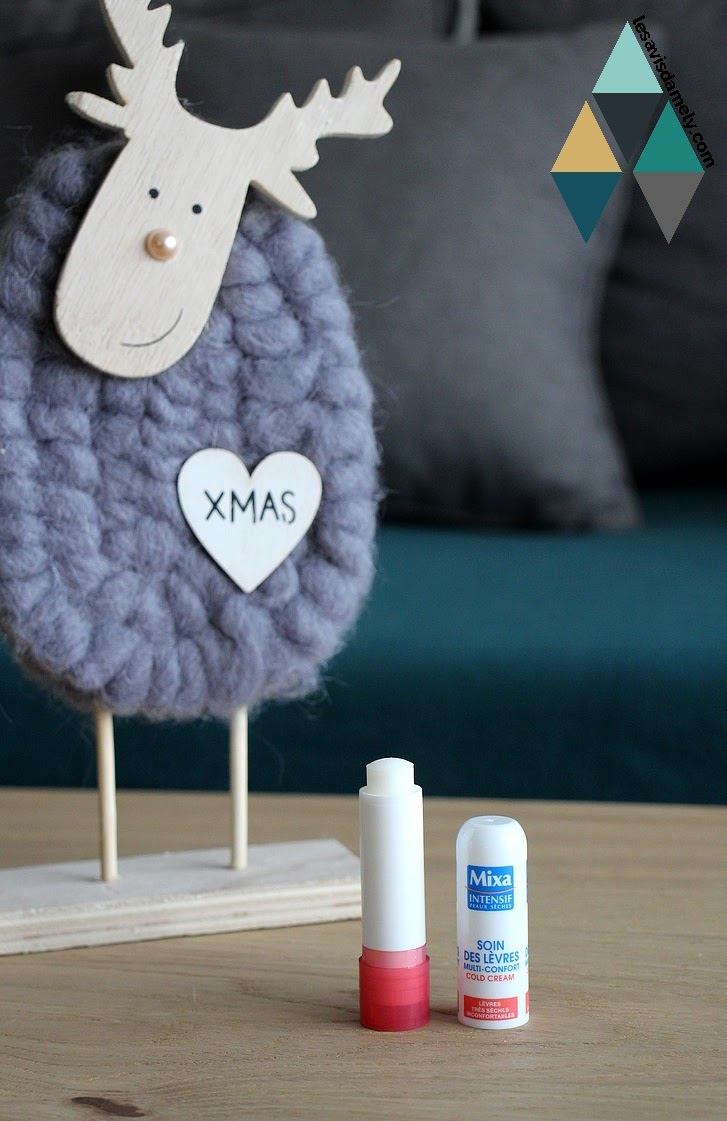 stick à lèvres hydratant lèvres déséchées mixa test