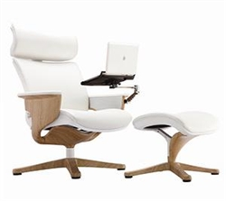 Eurotech Nuvem Chair and Ottoman