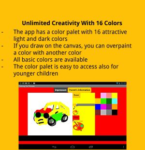 Coloring Pictures Cars Android App