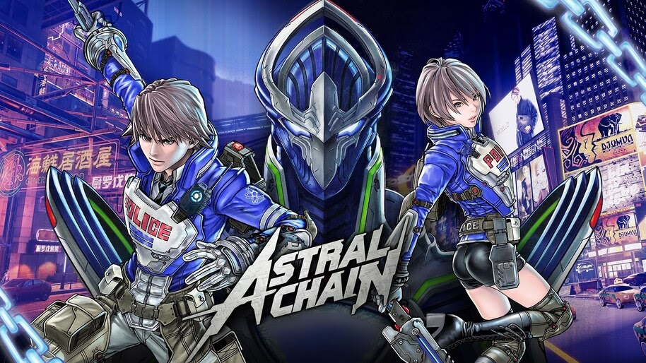 Astral Chain Poster 4k Wallpaper 3 343