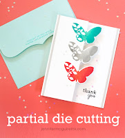 Partial die cutting video zig zag fold  - Jennifer McGuire