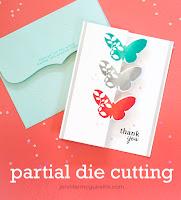 Partial die cutting video zig zag fold  - Jennifer McGuire
