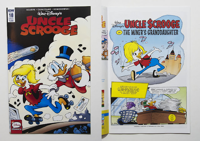 IDW's Uncle Scrooge #18 - The Miner's Granddaughter