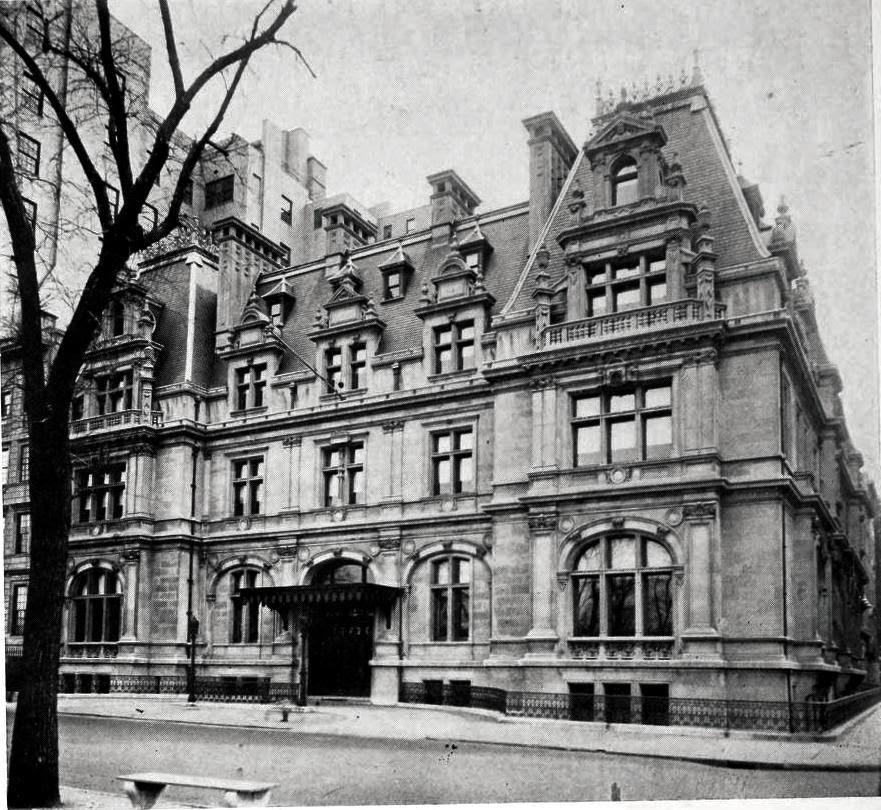 Daytonian In Manhattan The Lost John Jacob Astor Mansion 840 Fifth Avenue