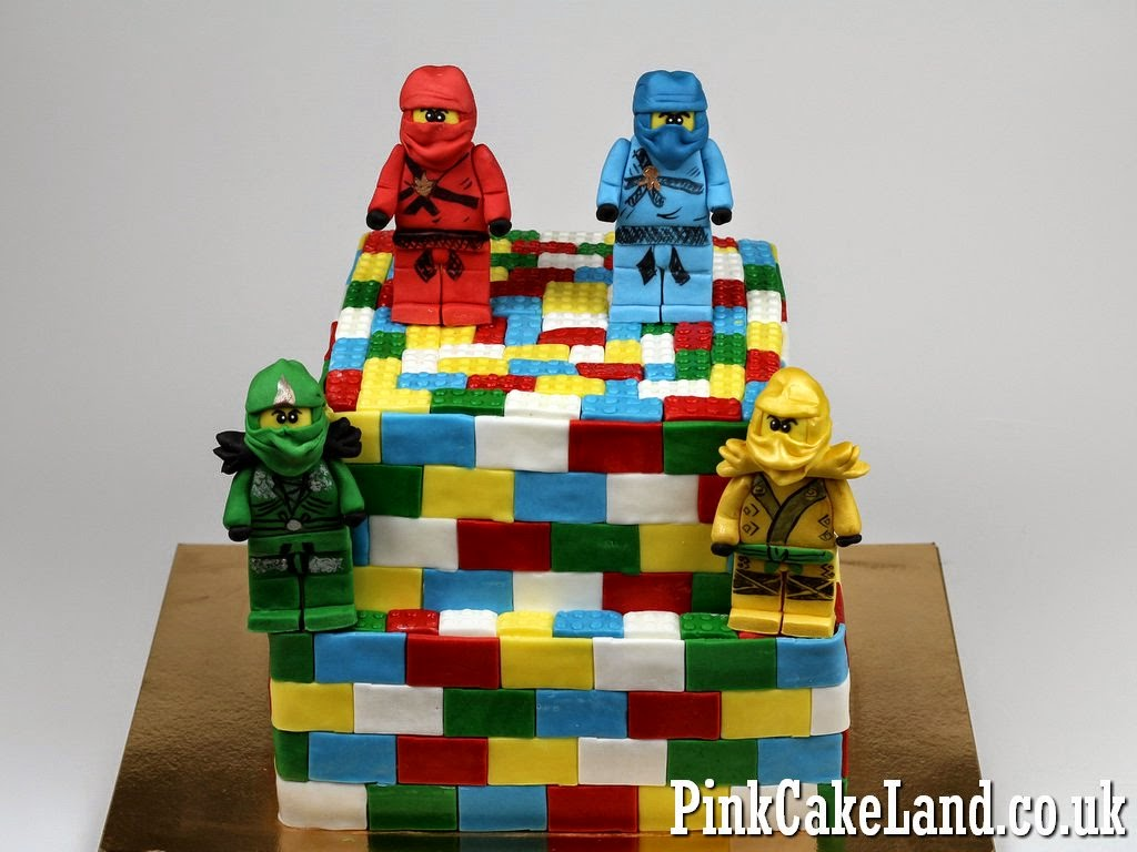 Ninjago Birthday Cake in London