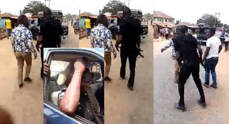 Despite having complete papers, police officer beats journalist and his driver over bribe