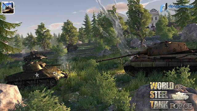 Download World Of Steel: Tank Force MOD APK Terbaru