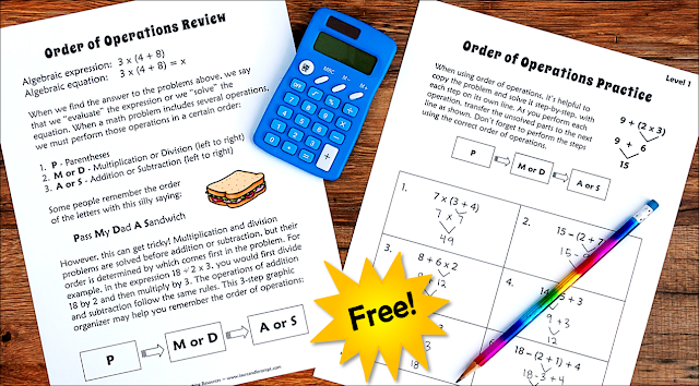 Teaching Order of Operations: No-fail Strategies that Work!