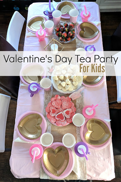 Valentine's Day Tea Party for Kids