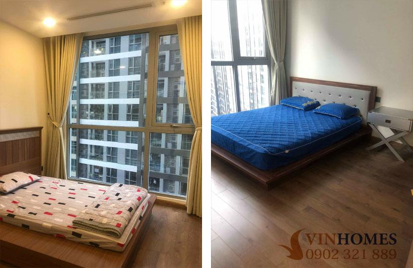 Cho thuê căn hộ 2PN tòa P4 tầng trung khu đô thị Vinhomes  - hinh 4