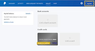 Silakan konfirmasikan kartu VCC anda dengan akun PayPal