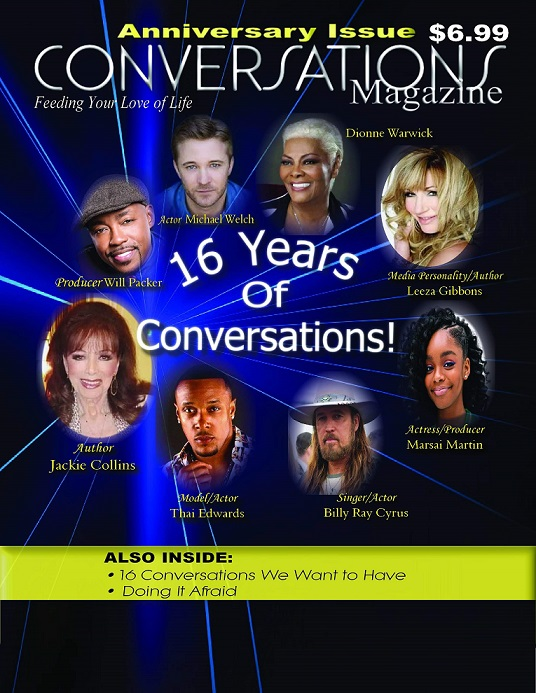 Click cover to order Conversations Magazine's Anniversary Issue 2019