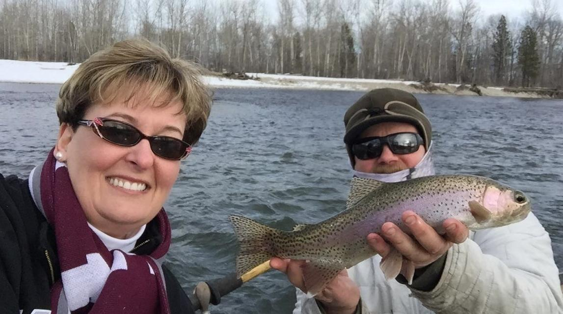 Notes from the net missoula montana fly fishing report 2 4 16 for Montana fly fishing report