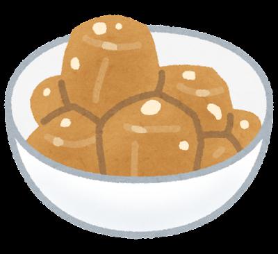 里芋の煮っころがしのイラスト