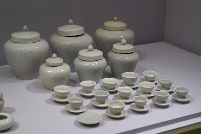 porcelaine coréenne blanche