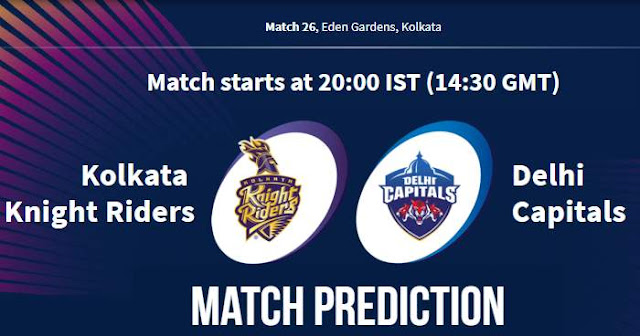 VIVO IPL 2019 Match 26 KKR vs DC Match Prediction, Probable Playing XI Who Will Win