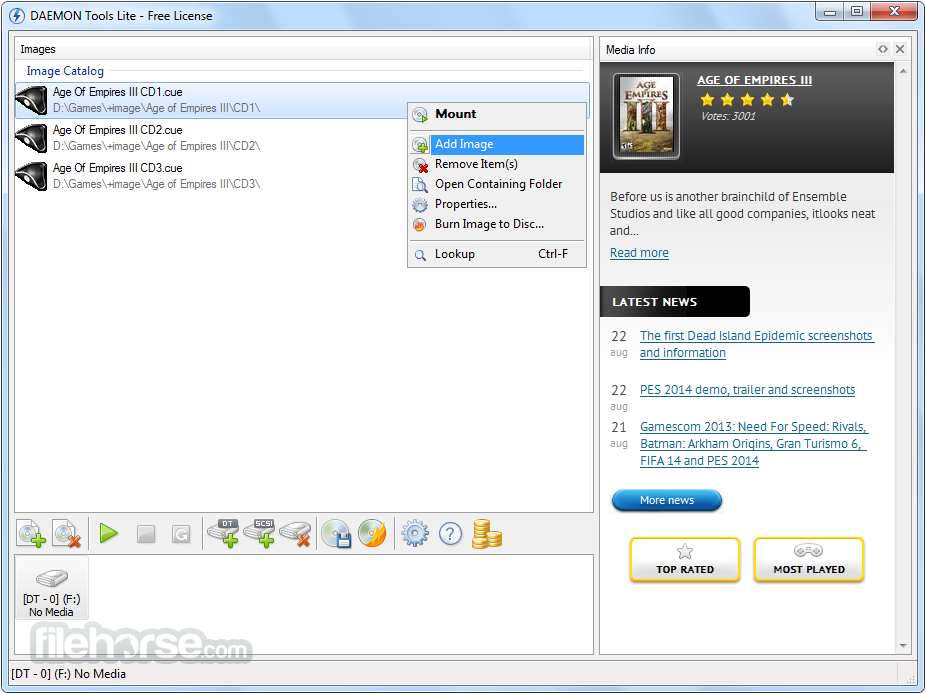 Free download daemon tools lite full pc software - Daemon tools lite 4 download ...