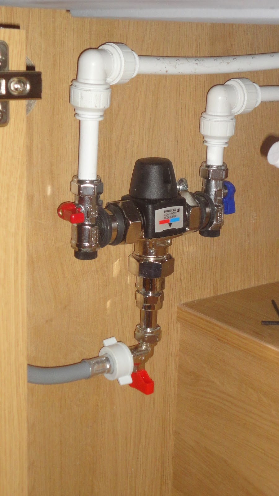 How To Install Mixing Valve In Shower