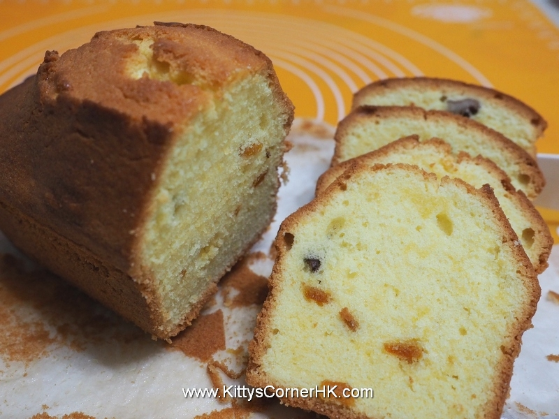 Pound Cake with Peels 皮香鮮油蛋糕 自家食譜 home cooking recipes