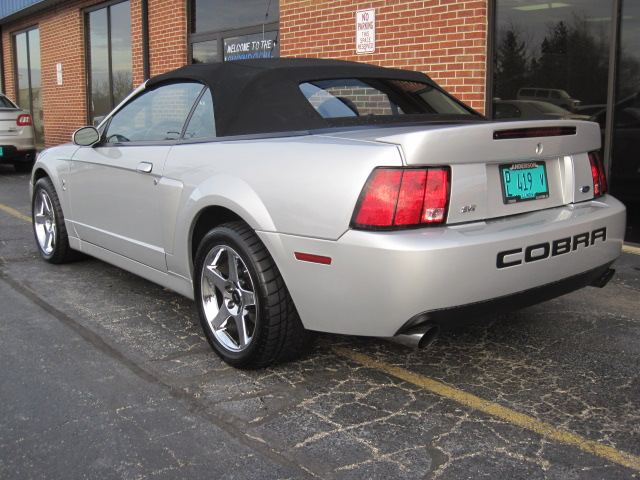 2004 Ford Mustang Cobra Convertible For