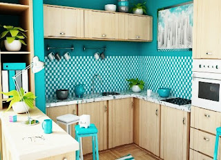 Unique Kitchen Design Inspiration With The Color Of Stabilo
