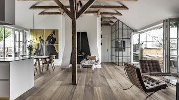 Estilos elegantes que puedes conseguir con pisos de madera