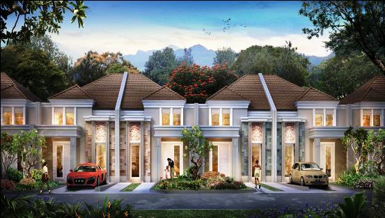 Desain Rumah Kopel Modern Art Deco Tipe 70