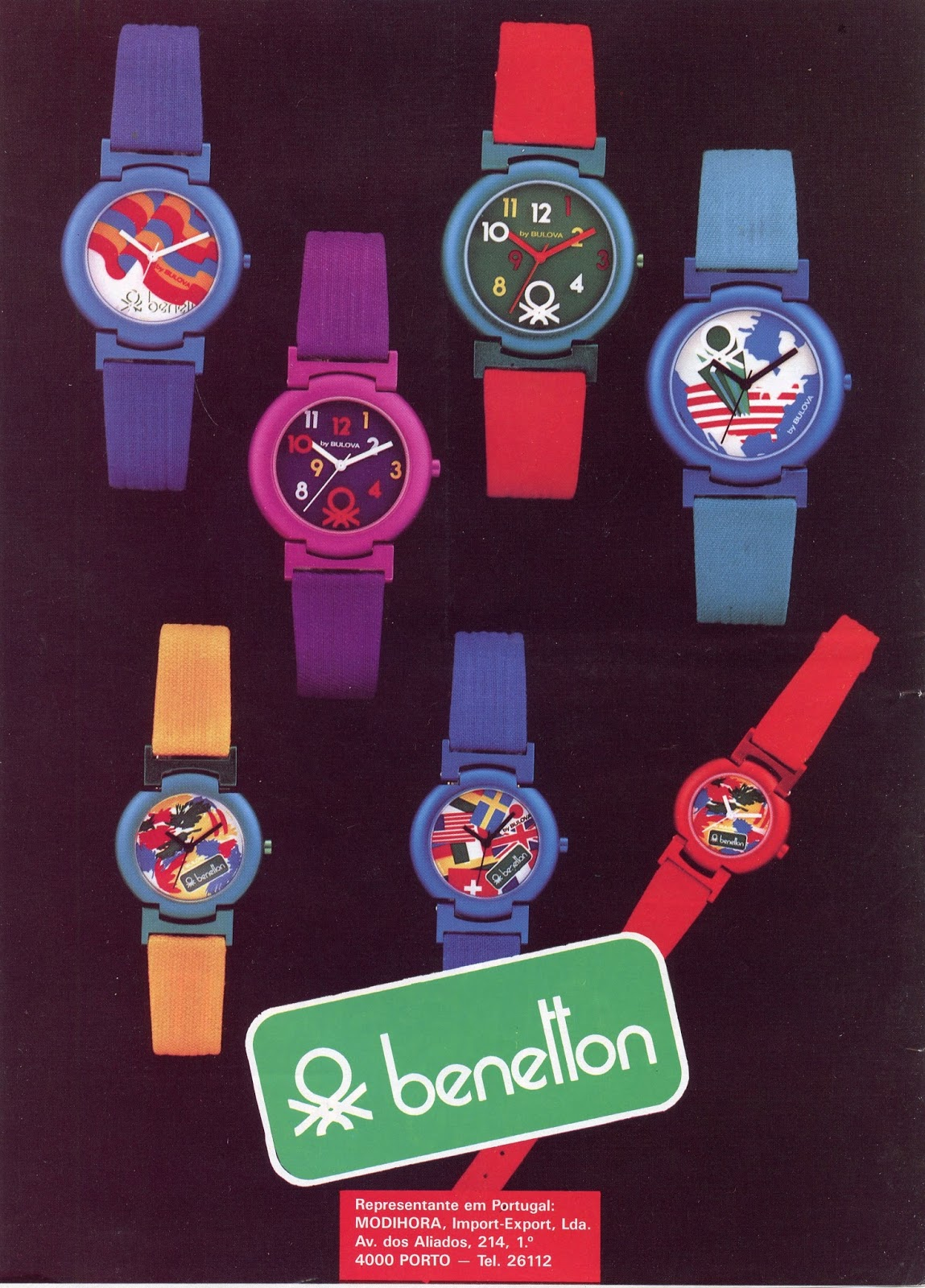 b1f97d660c4 Estação Cronográfica  Relógios Benetton