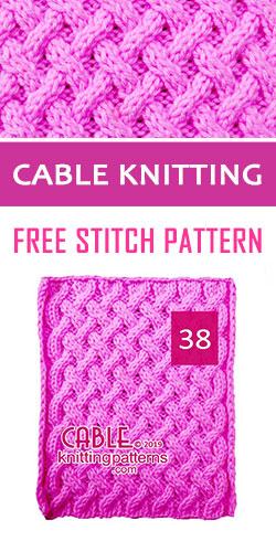 Cable Knitting Free Stitch Pattern 38