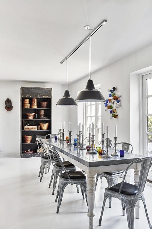 interior escandinavo con piezas industriales chicanddeco blog