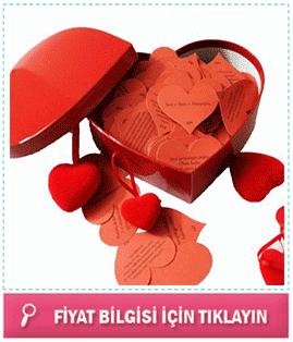 365 adet aşk sözleri kutusu