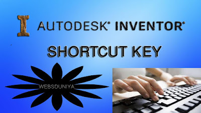 PC TIPS: CAD INVENTOR KEYBOARD SHORTCUT