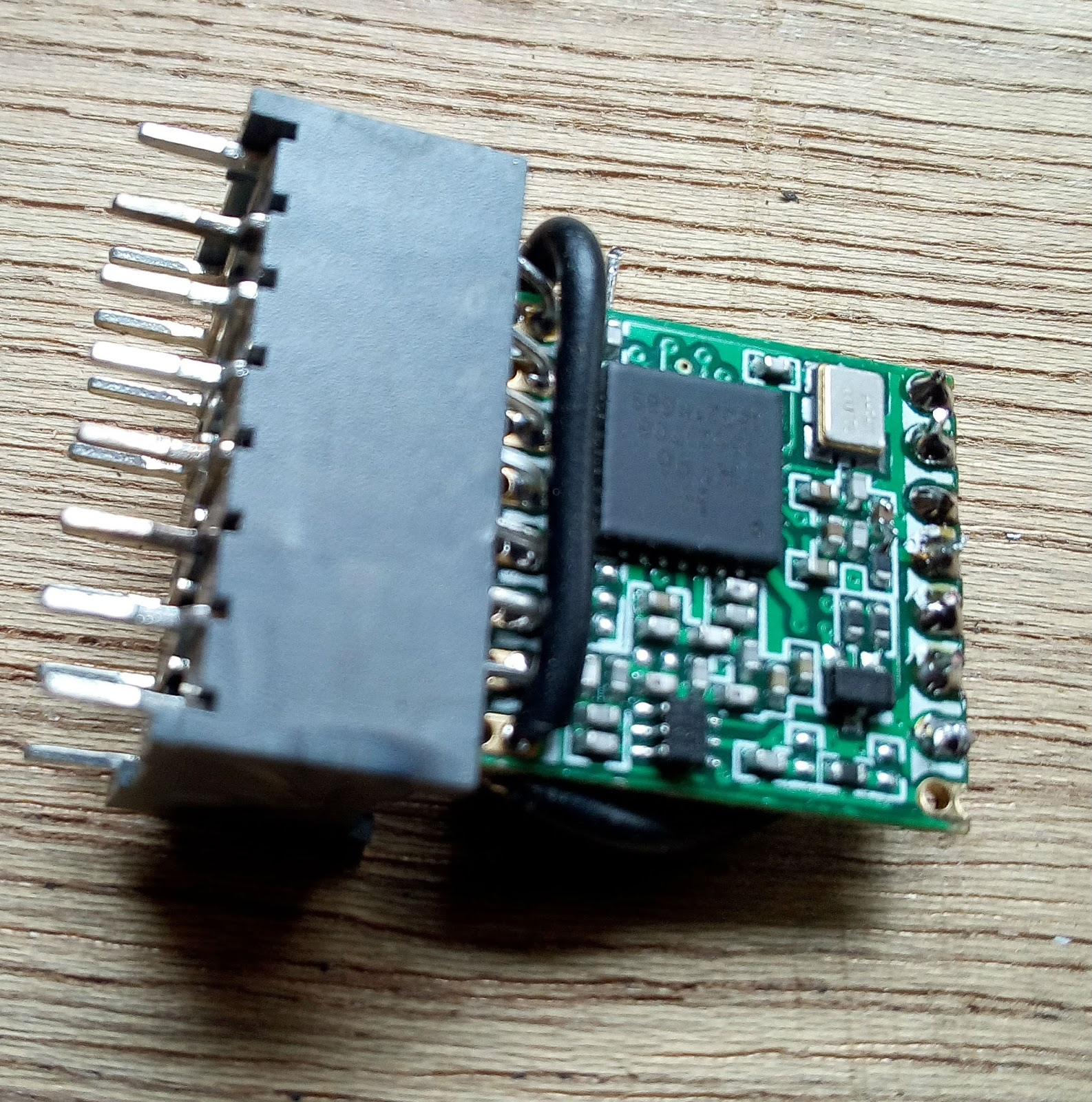 The Jeronimus Net blog: Lora RFM95 breadboard friendly