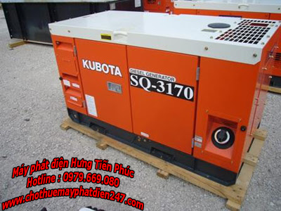 Máy phát điện Kubota 17kva SQ-3170